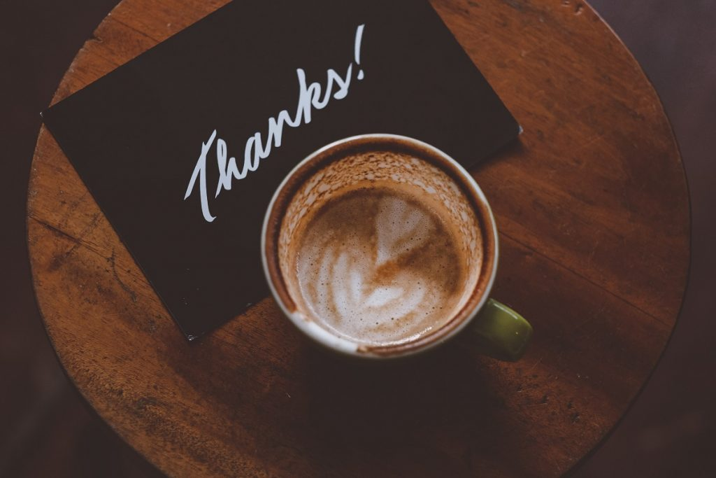 Expressing gratitude is an important key to effective leadership