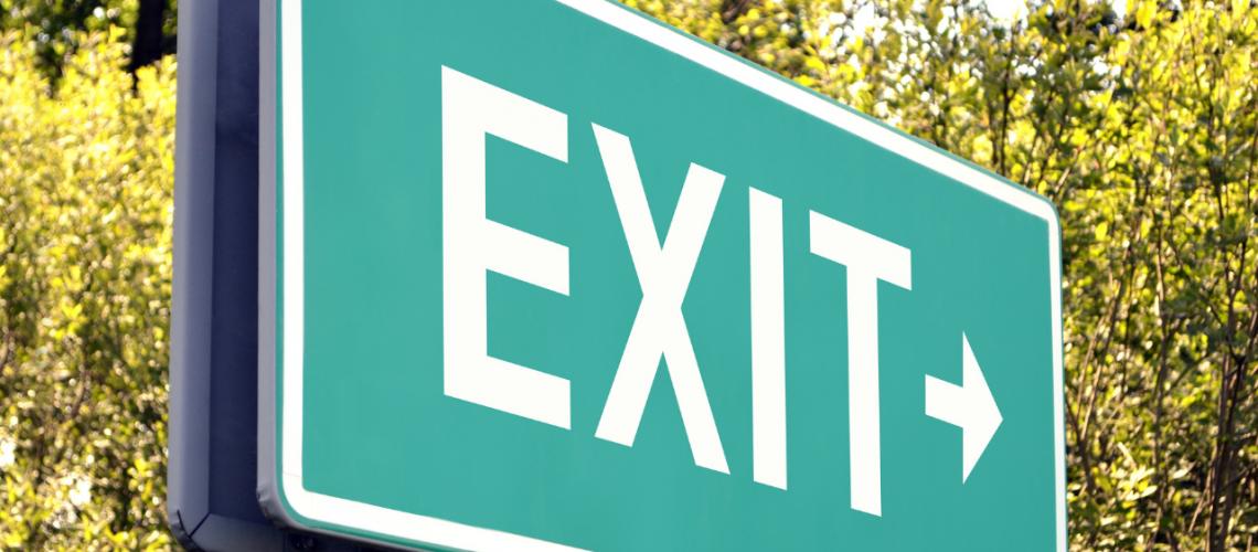 Exit Graphic